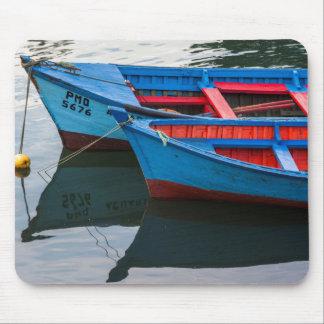 Angelmo港、漁船 マウスパッド