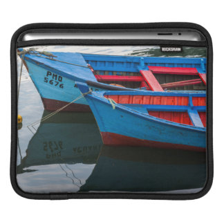 Angelmo港、漁船 iPadスリーブ