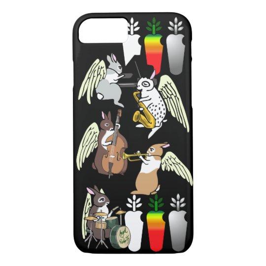 AngelRabbits Jazz Quintet iPhone 8/7ケース