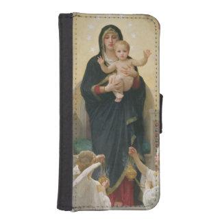 Angels 1900年が付いているヴァージン iPhoneSE/5/5sウォレットケース