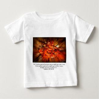 Angelwingsの写真撮影 ベビーTシャツ