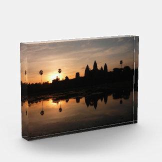 angkorの日の出の反射 表彰盾