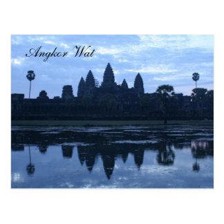 angkorの青 ポストカード