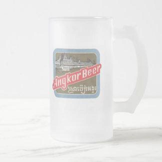 Angkorビール フロストグラスビールジョッキ