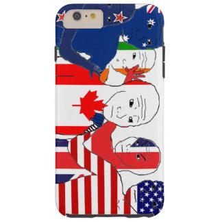 Anglosphereは感じます Tough iPhone 6 Plus ケース