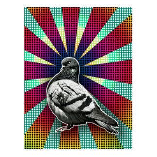 Angry Pigeon Postcard ポストカード