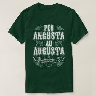 Angustaの広告のオーガスタの難しさの名誉のラテンのティーごと Tシャツ
