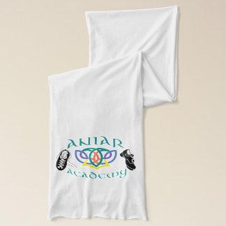 Aniarの白及びティール(緑がかった色)のスカーフ スカーフ