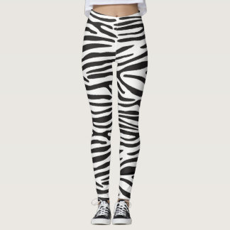 Animal Print Zebra Leggings レギンス