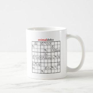 animaldokuの水中競技 コーヒーマグカップ