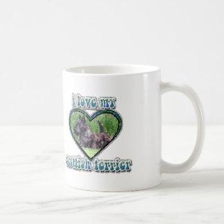 animals83 I愛私のスコッチテリア コーヒーマグカップ