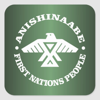 Anishinaabe (Ojibwe、チペワ語) スクエアシール