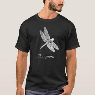 Anisopteraのトンボのスケッチ Tシャツ
