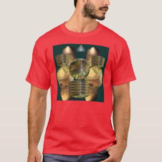 Anjo Lafin著ロボティック平衡 Tシャツ