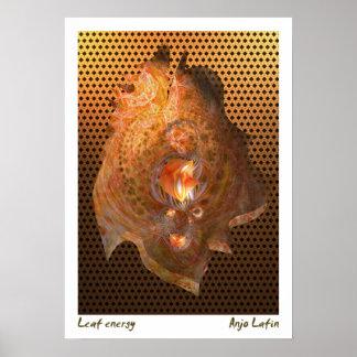 Anjo Lafin著葉エネルギー ポスター