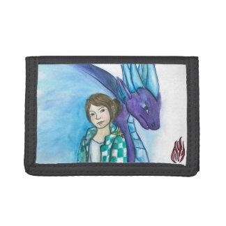 ANJOBUの財布3 ナイロン三つ折りウォレット