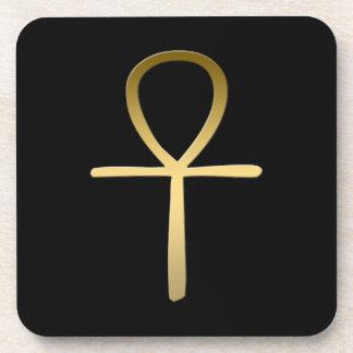 Ankhの十字のエジプトの記号 コースター