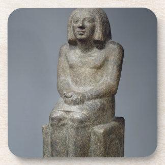 Ankh、Horusの司祭、早い君主のPeの彫像 コースター
