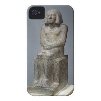 Ankh、Horusの司祭、早い君主のPeの彫像 Case-Mate iPhone 4 ケース