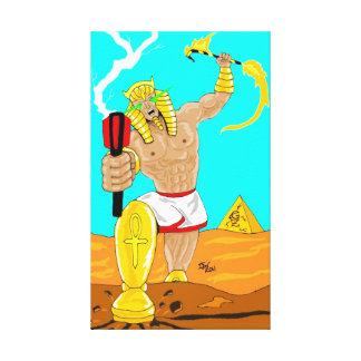 Ankhamethのエジプトの悪人のキャンバス キャンバスプリント