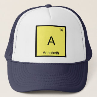 Annabeth一流化学要素の周期表 キャップ