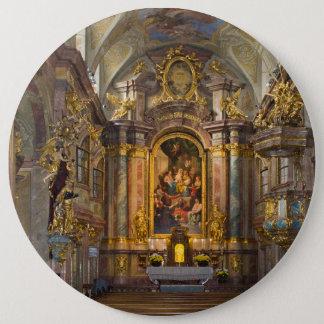 Annakirche、Wien Österreich 15.2cm 丸型バッジ