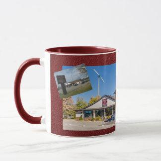 AnnaMaeのマグ2の調子Burgendy マグカップ