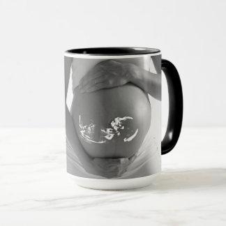 Announcmentのコンボ15ozマグはあなたの文字ByZazz_itを加えます マグカップ