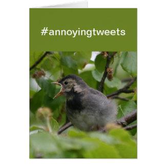 「#annoyingカード」さえずります カード