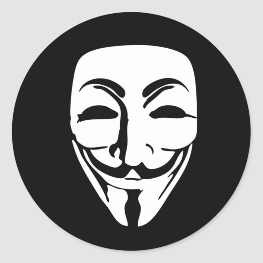 ANONYMOUS mask ラウンドシール