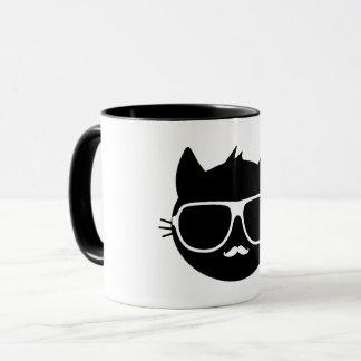Anthro猫-マグ(コンボ、着色されて) マグカップ