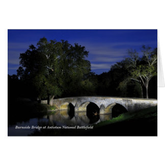 Antietamの国民の戦場のBurnside橋 カード