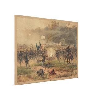 Antietam Sharpsburgのプリントの内戦の戦い キャンバスプリント