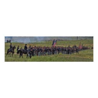 Antietam/Sharpsburgポスターの内戦の戦い ポスター