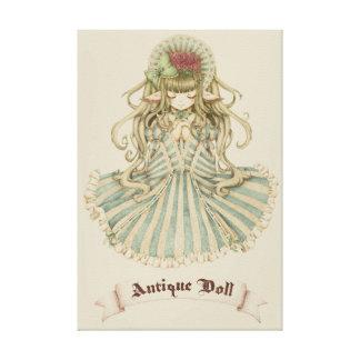 Antique Doll キャンバスプリント