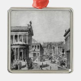 Antiquity 1914年のローマのフォーラム メタルオーナメント