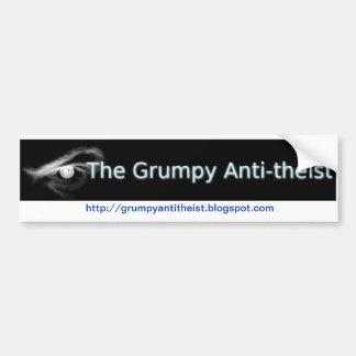 Antitheistの気難しいバンパーステッカー バンパーステッカー