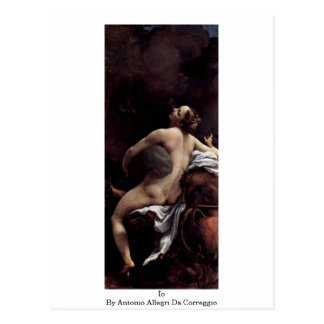 Antonio Allegri Da Correggio著Io ポストカード