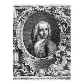 Antonio Canalettoのポートレート ポストカード