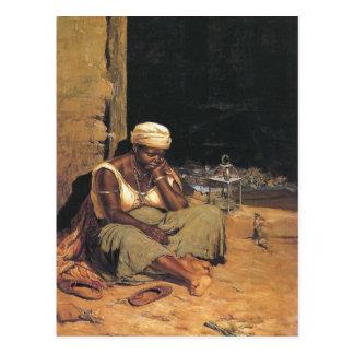 Antonio Ferrigno著Mulataのquitandeira ポストカード