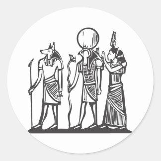 AnubisおよびHorus ラウンドシール