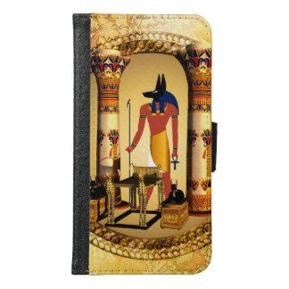 Anubisのエジプトの神 Galaxy S6 ウォレットケース