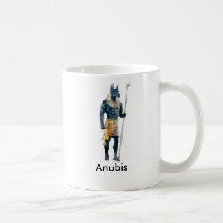 Anubisのエジプト人の神 コーヒーマグカップ