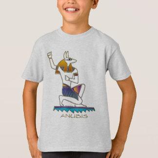 ANUBISのエジプト人の神 Tシャツ