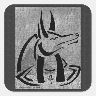 Anubisの正方形のステッカー スクエアシール