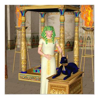 Anubisの死んだ儀式の古代エジプトの神 カード