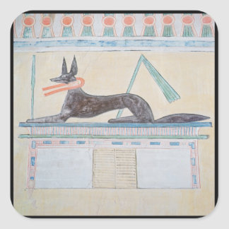 Anubisの死者のエジプトの神 スクエアシール