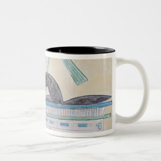 Anubisの死者のエジプトの神 ツートーンマグカップ
