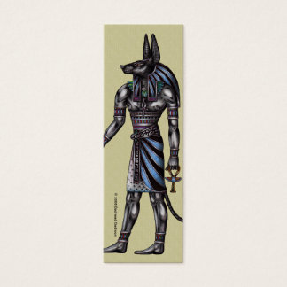 Anubisの細いプロフィールカード スキニー名刺