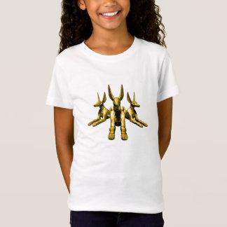 Anubisの金彫像 Tシャツ